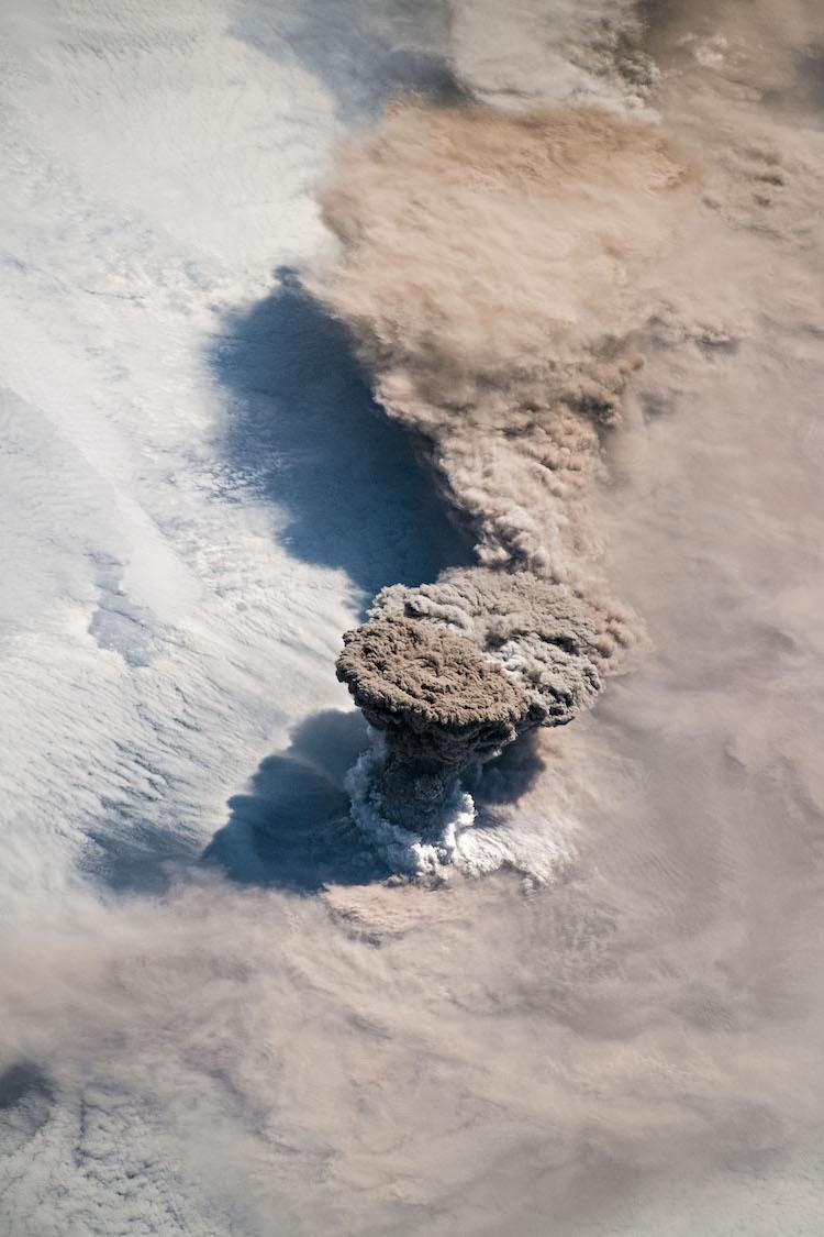 L'Eruzione del Raikoke