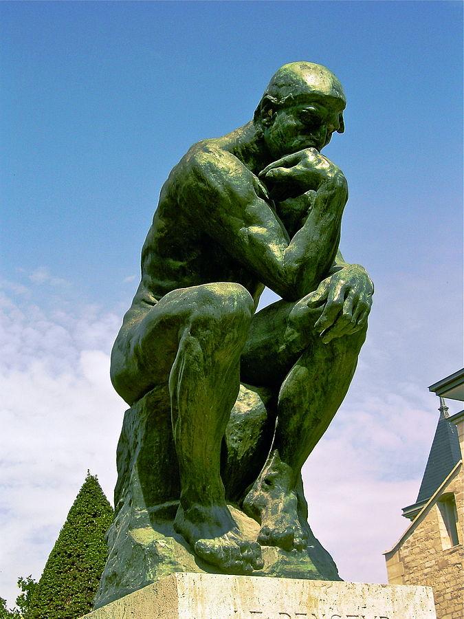Il pensatore, Rodin
