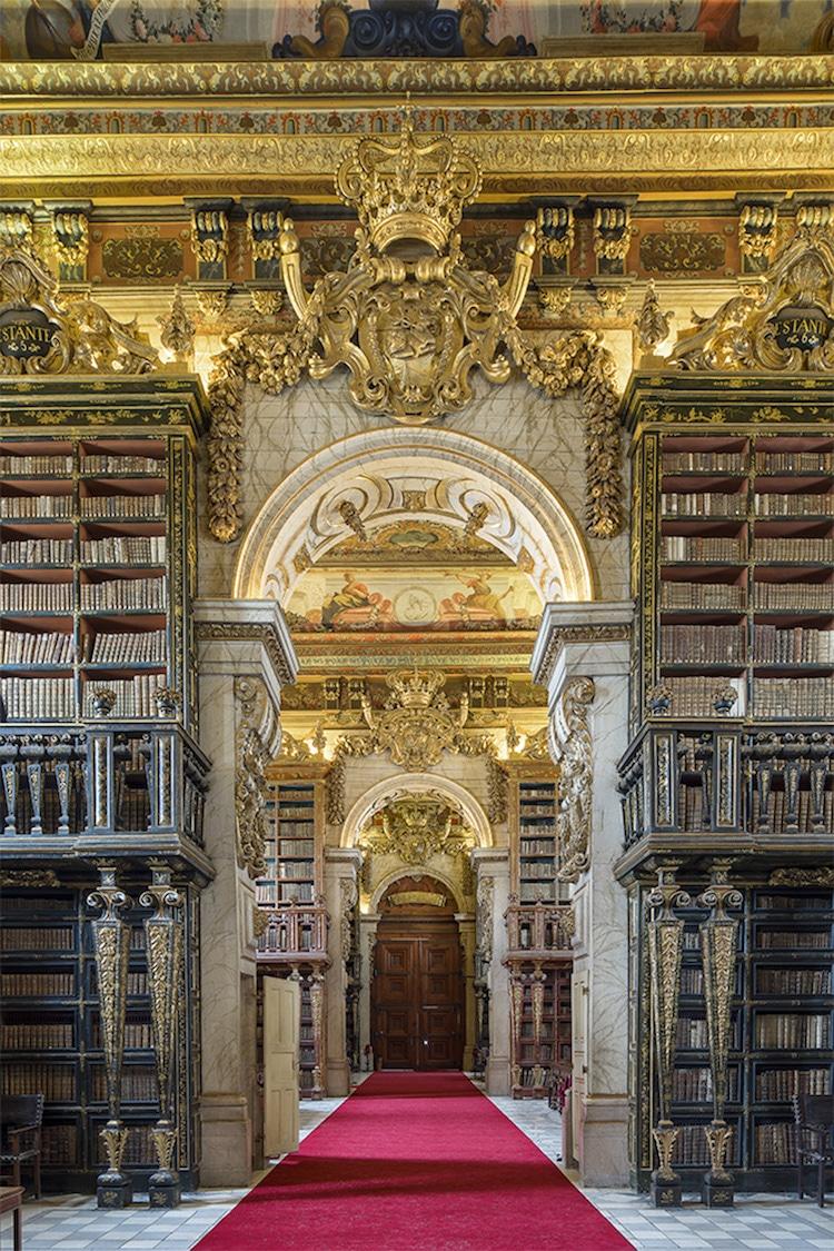 Biblioteca Joanina. Portogallo (2015)