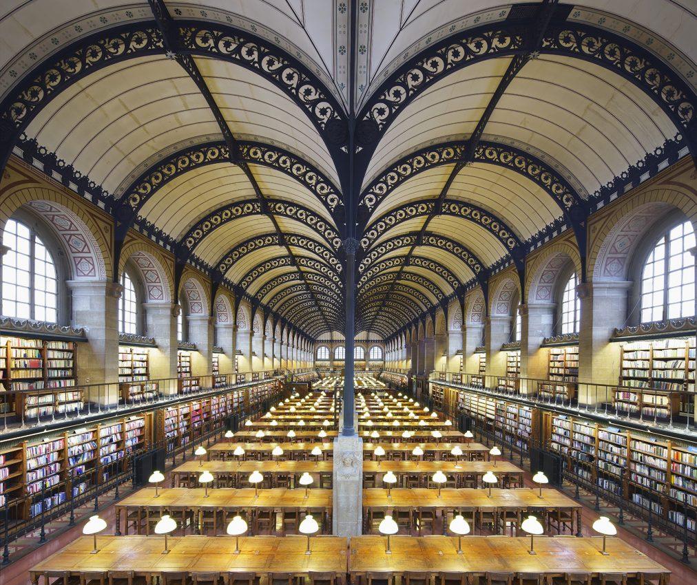 Biblioteca Sainte Geneviève, Parigi (2018)
