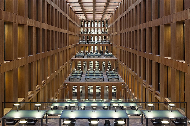 Biblioteca Jacob e Wilhelm Grimm, Berlino (2010)