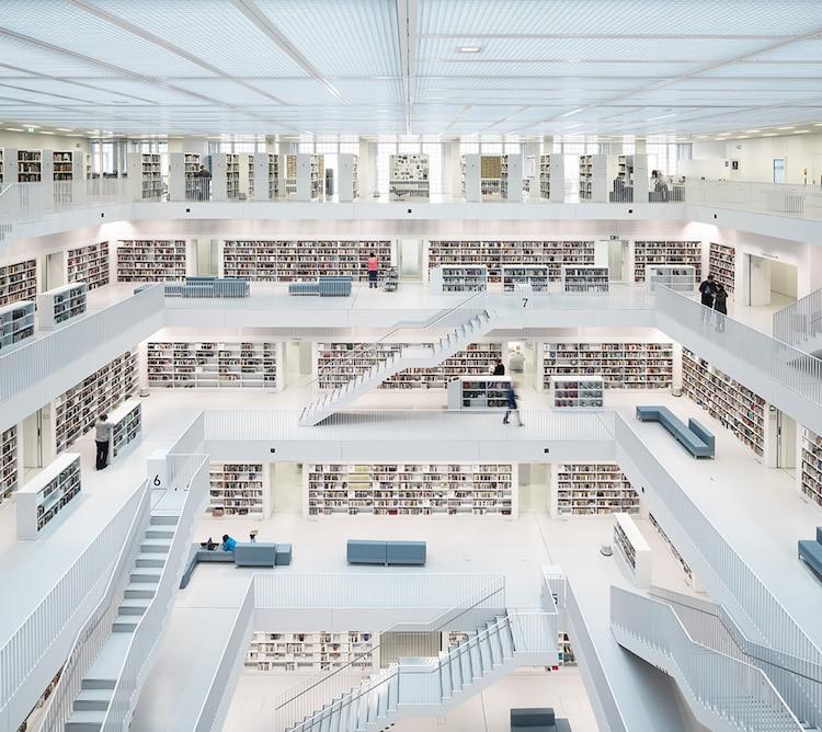 Biblioteca di Stoccarda (2014)