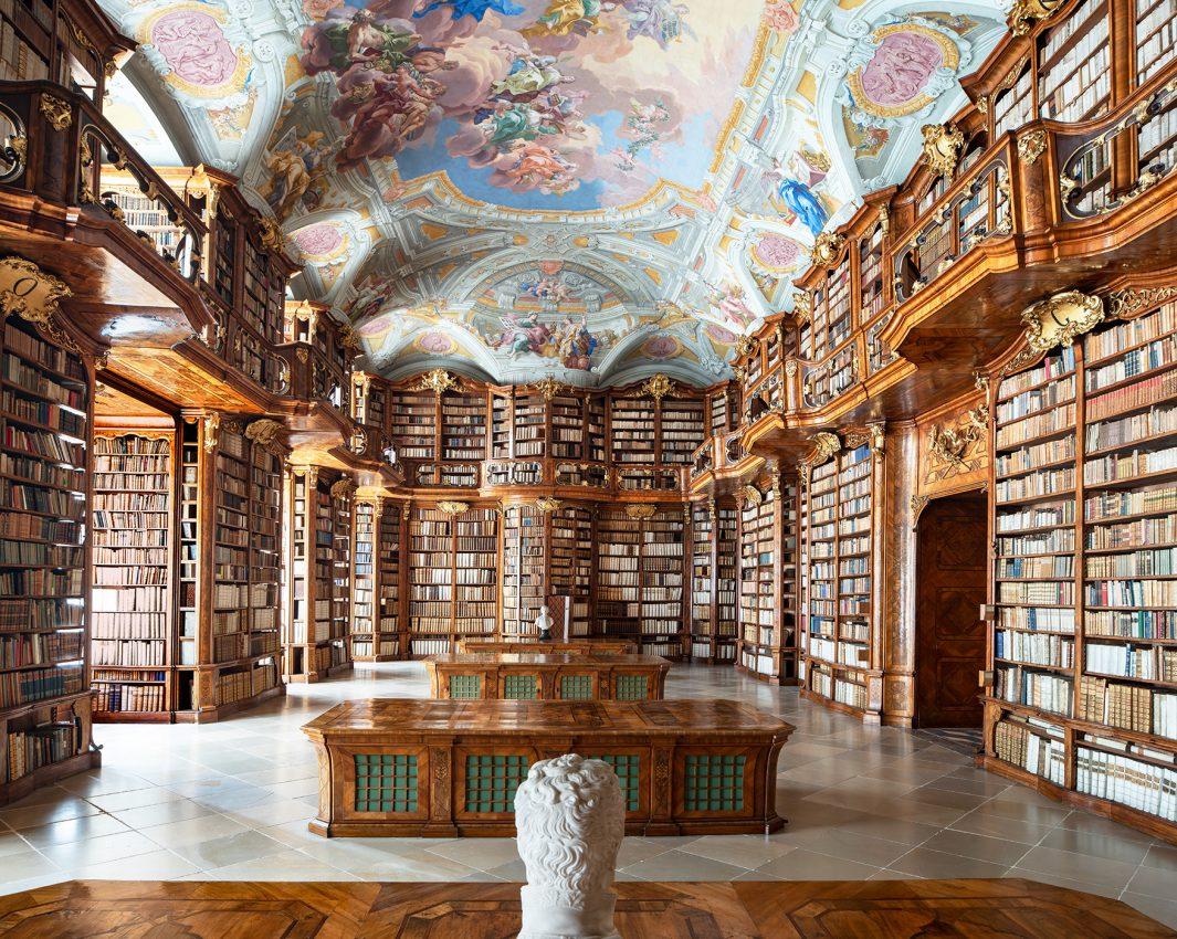 Biblioteca dell'Abbazia di San Floriano, Austria (2019)