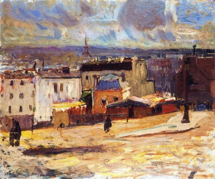 """Raoul Dufy, """"Visuale su Parigi da Montmartre,"""" 1902"""