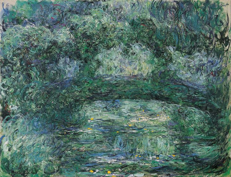 Claude Monet, Il Ponte Giapponese (1918/1924)
