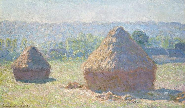 Claude Monet, Covoni, fine dell'estate (1891)