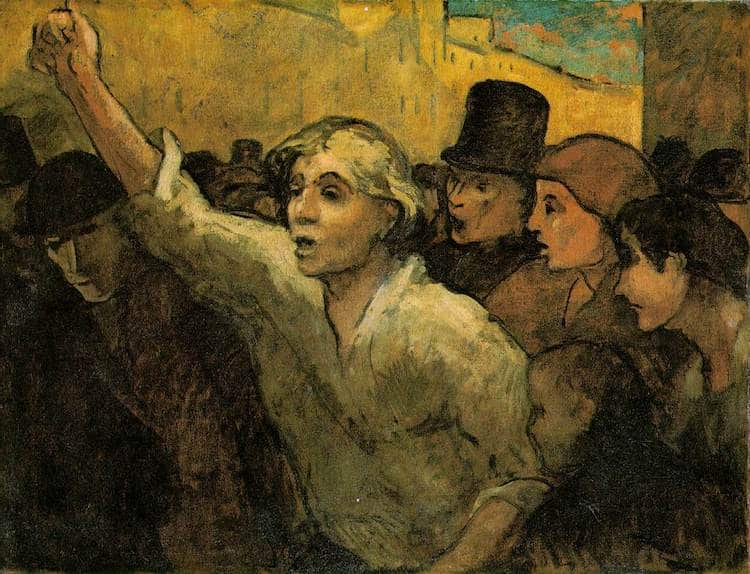 La Rivolta di Honoré Daumier