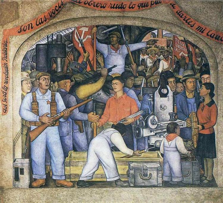 L'Arsenale di Diego Rivera