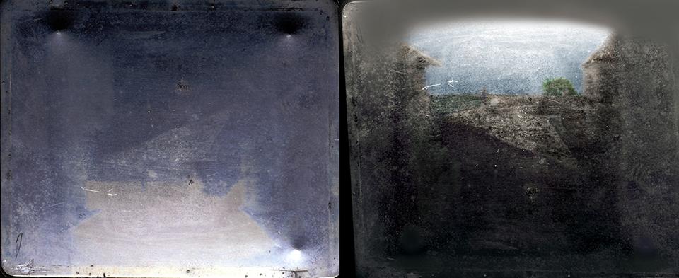 La prima fotografia di sempre, Vista dalla finestra a Le Gras