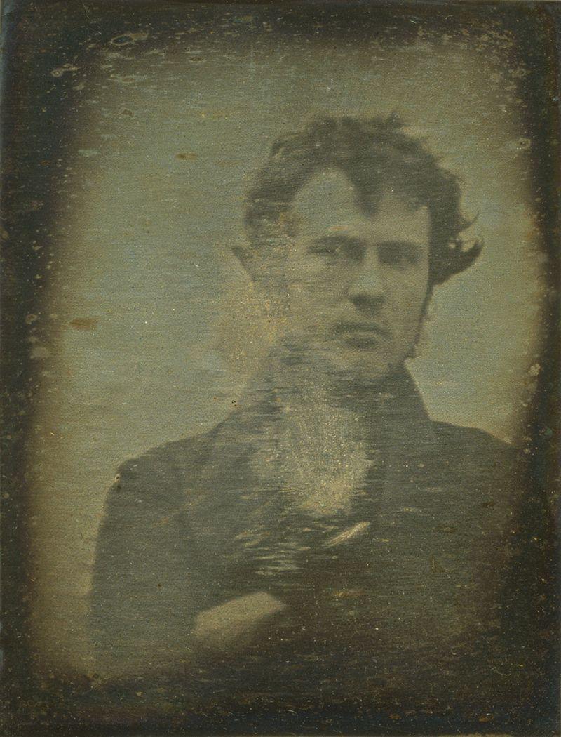 Il primo auto-ritratto fotografico