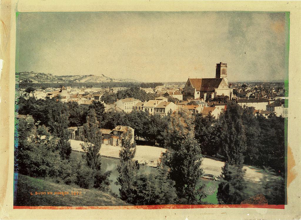 La prima fotografia a colori di un paesaggio