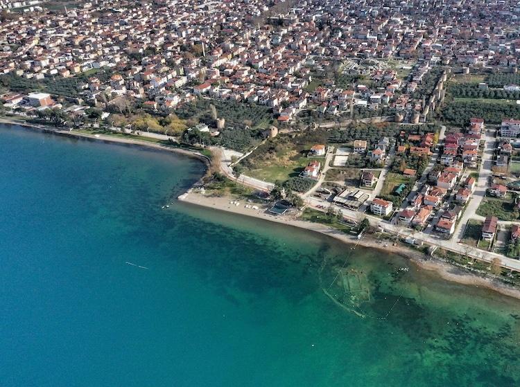 chiesa sommersa a Nicea, Iznik