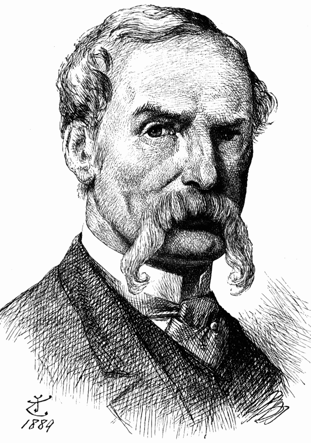 Autoritratto di Sir John Tenniel, 1889