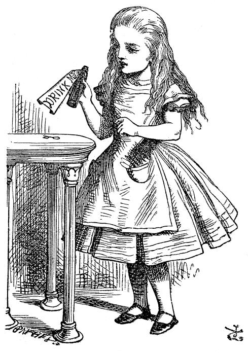 Sir John Tenniel, Alice, 1865
